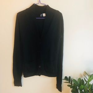 Divided by H&M Black cardigan with buttons